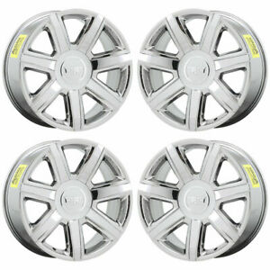 22 Cadillac Escalade Pvd Chrome Wheels Rims Factory Oem 4739 Exchange