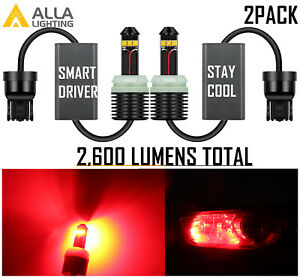 Led Red Rear Turn Signal Light Lamp 2004 2008 Acura Tl Type s Style canbus Fit