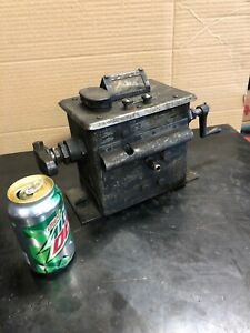 Antique Single Feed Madison Kipp Model 50 Lubricator Oiler Hit Miss Steam Engine