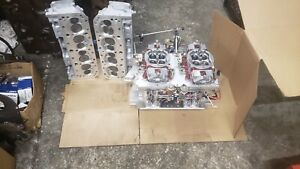 Small Block Chevy Gb 2400 Heads 950 Quick Fuel Carbs Steve Johnson Foggers