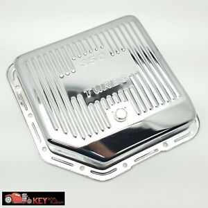 Turbo 350 Deep Extra Capacity Chrome Transmission Pan Th350 Gm Chevy