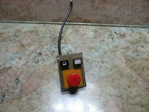 97 Yang Eagle S 600 Cnc Mill Mag Magazine Controller Unit On off Control Panel