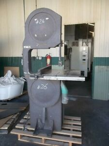 Davis Wells 20 Band Saw With Original Rip Fence System Bandsaw