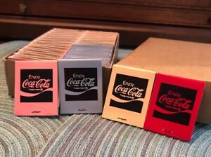 NOS 1976 Coca-Cola Vintage 50 Matchbooks  Statesboro Georgia W/Box Matches Coke