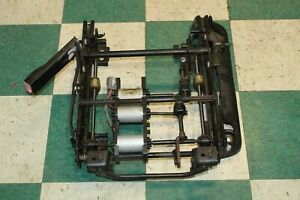 07 14 Tahoe Left A95 Driver Power Seat Track Frame Electric Motors Factory Oem