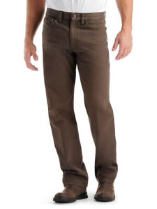 Lee Men#x27;s Regular Fit Straight Leg Jeans Walnut $40.60
