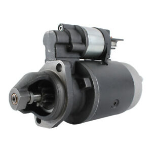185086050 12v 9 Tooth Starter For Ford New Holland Tractor 1000 1500 1600 1700