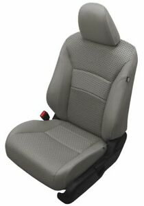 2013 2014 Honda Accord Sport Ex Gray Katzkin Leather Seat Replacement Covers