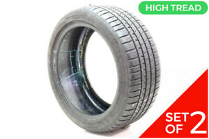 Set Of 2 Used 225 45r17 Michelin Pilot Sport A S 3 Plus 94v 9 32