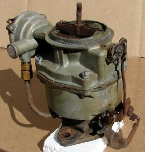 1960 S Rochester 1 Bbl Gm Chevy 6 Cylinder Engine Carburetor 7011912