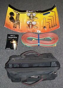 Welding Torch Kit Medium Duty Oxyacetylene Gas Deluxe Victor Type Blow Torch