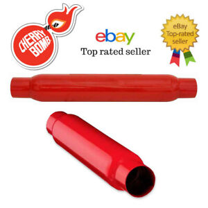 Cherry Bomb Universal Glasspack Muffler 2 5 In Out 18 Body 87529cb