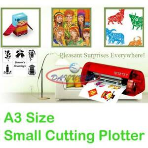 A3 Vinyl Cutter Cutting Plotter Carving Machine Artcut Software Diy
