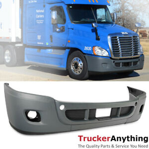 Complete Front Bumper Freightliner Cascadia 08 17 Fascia Kit With Fog Light Hole