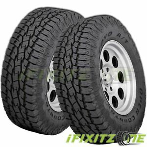 2 Toyo Open Country A t Ii Lt265 75r16 C 6 112t On off Road All Terrain Tires