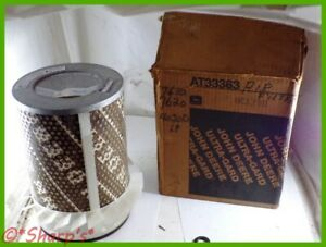 At33363 Nos Air Filter John Deere 2840 3010 3130 4000 4010 4020 575 al27158