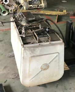 Alemite Heavy Duty Hose Reel X4 Overhead 1963 Covered Grease Gear Oil Lube Air