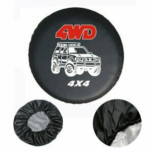 32 33 Universal Spare Wheel Tire Tyre Cover Case Protector For Car 4wd 4x4 Suv