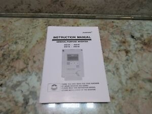 Adlee Power Inverter As2 Instruction Manual As2 04 As2 07 As2 15 As2 22 Cnc