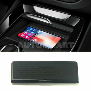 Wireless Car Charger Wireless Phone Charging Pad For Bmw X3 F25 X4 F26 2011 2017