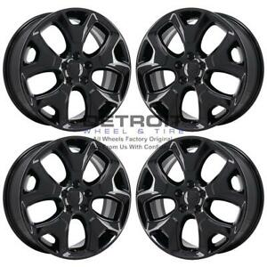 18 Jeep Compass Gloss Black Exchange Wheels Rims Factory Oem 9191 2018 2020