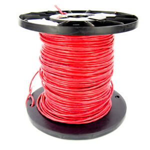 Belden 1175a 002 Red Multi conductor Cable 22 Awg Shielded T1 ds1