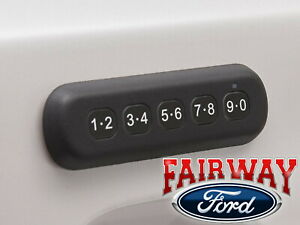 19 20 Ranger Ford Remote Door Lock Keyless Entry Keypad Without Remote Start