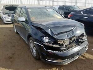 Driver Front Seat Alltrack Bucket Air Bag Leatherette Fits 15 17 Golf 1276676