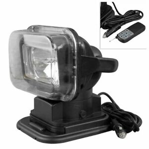 Car Hid Xenon Road Driving Light 360 Search Light Work Lamp Remote Control