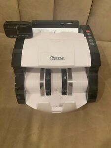 Used G star Money Counter With Uv mg Counterfeit Bill Detection