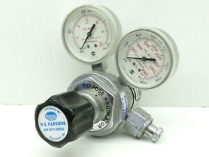 Airgas Mw18353 General Purpose Carbon Dioxide Gas Regulator 3000psi max Inlet