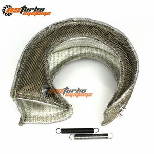 T4 Gt42 Gt45 S400 Tp38 Large Turbo Heat Shield Blanket Turbocharger Cover Wrap