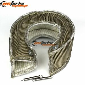 T6 Inlet Turbo S400 S475 S480 Turbo Heat Shield Blanket Turbocharger Cover Wrap