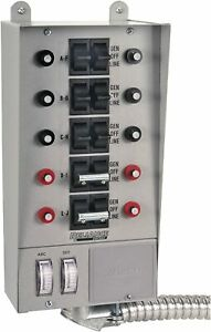Reliance Controls 51410c Pro tran 10 circuit Indoor Transfer Switch