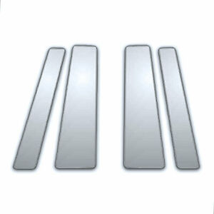4pc Chrome Pillar Side Covers For 11 19 Toyota Yaris 5dr