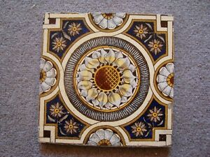 Elegant Sunflower Style Aesthetic Ceramic Tile 21 38