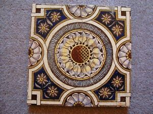 Antique Sunflower Style Aesthetic Ceramic Tile 21 38