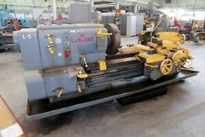 Leblond 25 Heavy Duty Lathe 30 20 Sw oc X 42 Cc 24 3 jaw taper Attachment