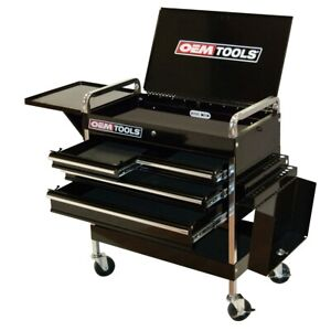 Service Cart With Four Drawers And One Tray Grn24962 Brand New