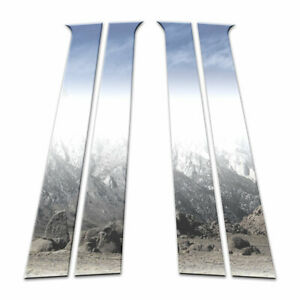 Auto Reflections Pillar Post Covers Fit For 2009 2011 Chevy Aveo Hatchback 4p
