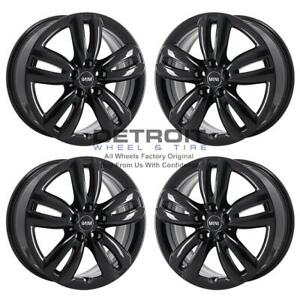 17 Mini Cooper Gloss Black Wheels Rims Factory Oem 86250 2016 2019 Set