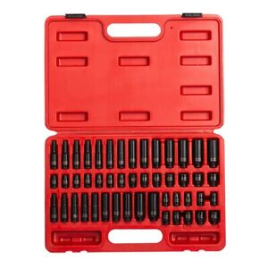 Sunex Tools 48 piece 1 4 In Drive Impact Socket Master Set Sun1848 Brand New