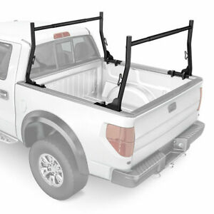 Adjustable Truck Bed Ladder Racks For Pickup W 8 Mounting Clamps Lumber Utility