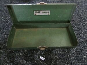 Vintage Sk S K Tool Socket Case For 3 8 Socket Set Ratchet Extension Bar Tool