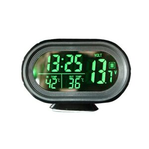 3x car Voltage Monitor Clock Digital Thermometer C7t8 7t8