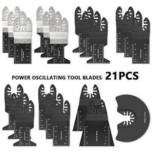21pcs Oscillating Multi Tool Saw Blades For Dewalt Makita Bosch Fein Multimaster