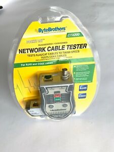 Triplett bytebrothers Ctx200 Pocket Cat Network Cable Tester