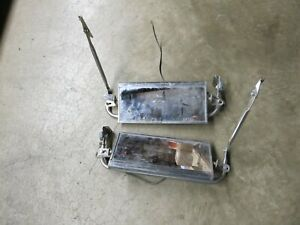 Vintage West Coast Jr Ford Chevy Gmc Truck Tow Mirrors Pickup Rat Rod Semi
