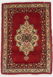 Small Entryway Rug Handmade Floral 2x3 Vintage Style Oriental D Cor Wool Carpet