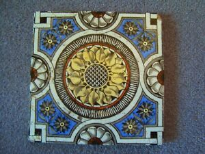 Antique Sunflower Style Aesthetic Tile 21 38